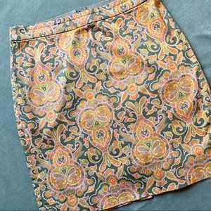 j.crew factory • The Pencil Skirt in Paisley